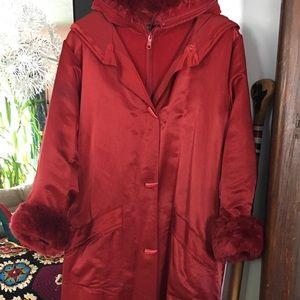"""Linda Lundstrom """"La Parka"""" coat."""